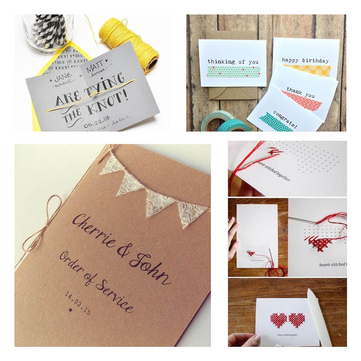 Genoeg Een originele trouwkaart (en meer!) voor de mooiste dag van je &RL66