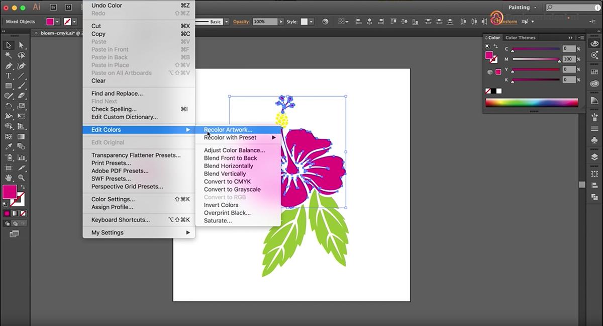 Videotutorial: CMYK omzetten naar PMS in Adobe Illustrator