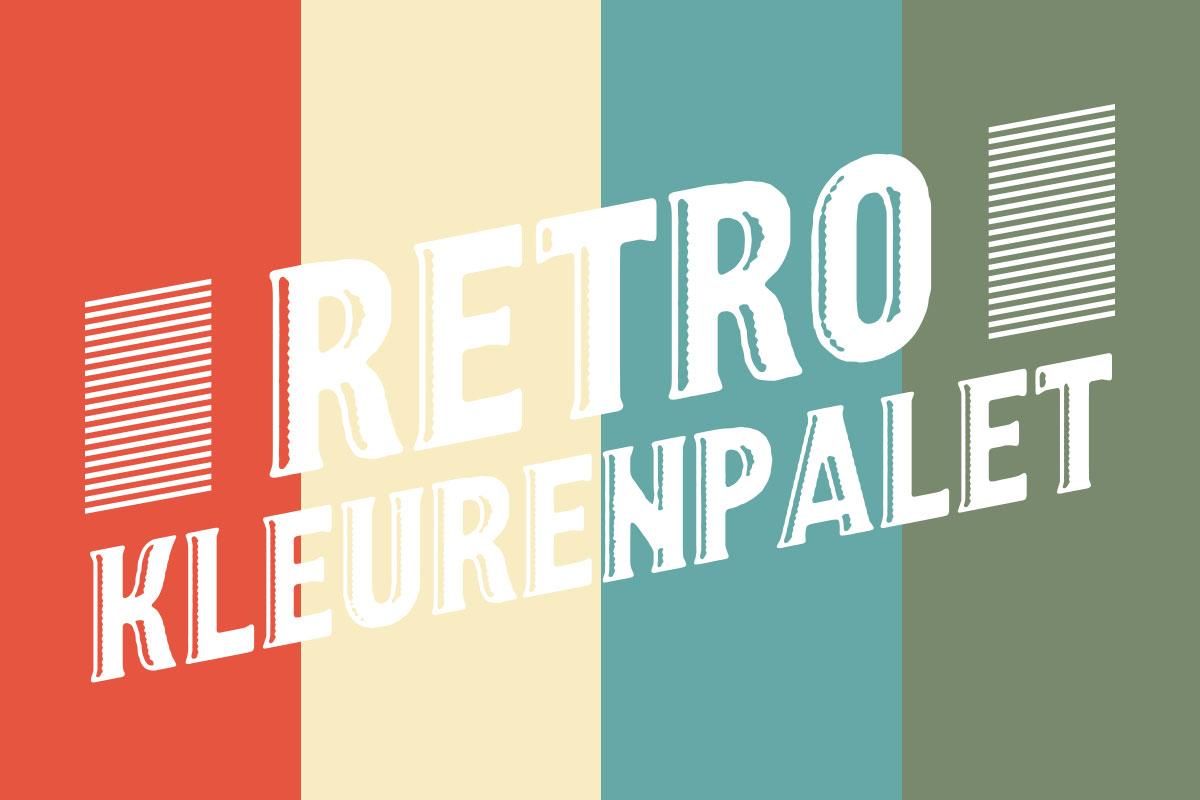 Tips Retro Kleuren : Freebiefriyay: breng retro tekststijlen aan in je ontwerp