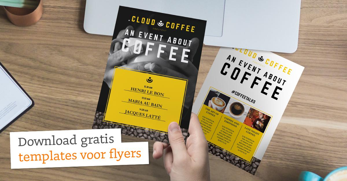 5 gratis templates voor een fenomenale flyer | drukwerkdeal.nl