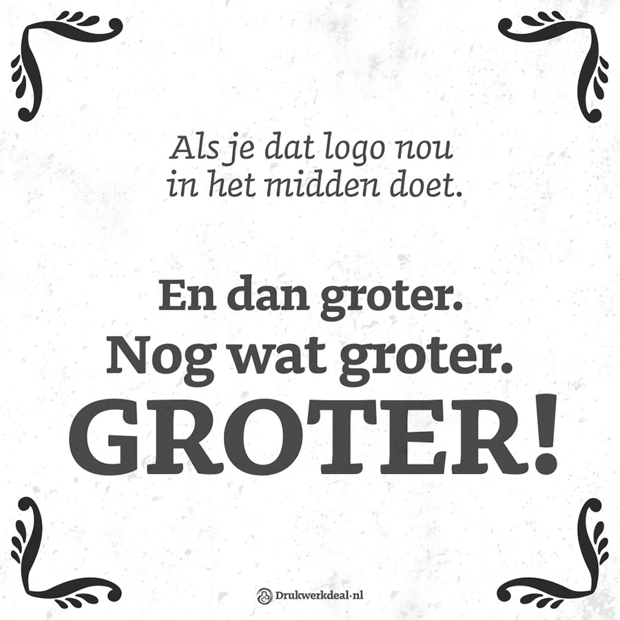 Groter-groter-groter