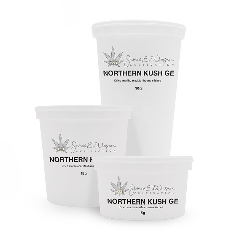 Bottles Northern Kush GE
