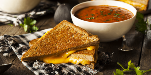 Cannabis-Infused Tomato Soup & Grilled Cheese thumbnail
