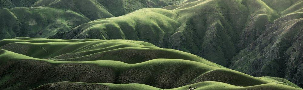 Gebirgslandschaft in Peru