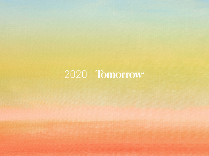 2020 | Tomorrow
