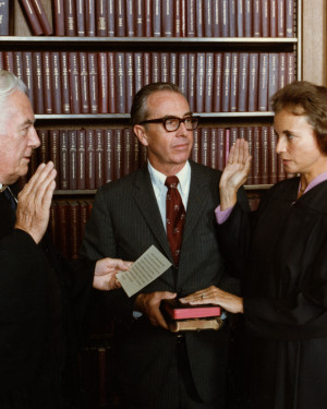 Swearing in for United States Supreme Court