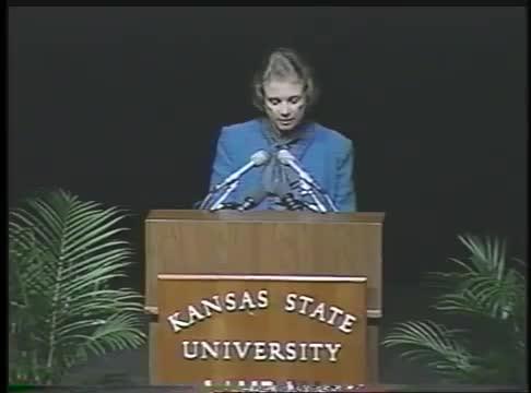 Landon Lecture at Kansas State University