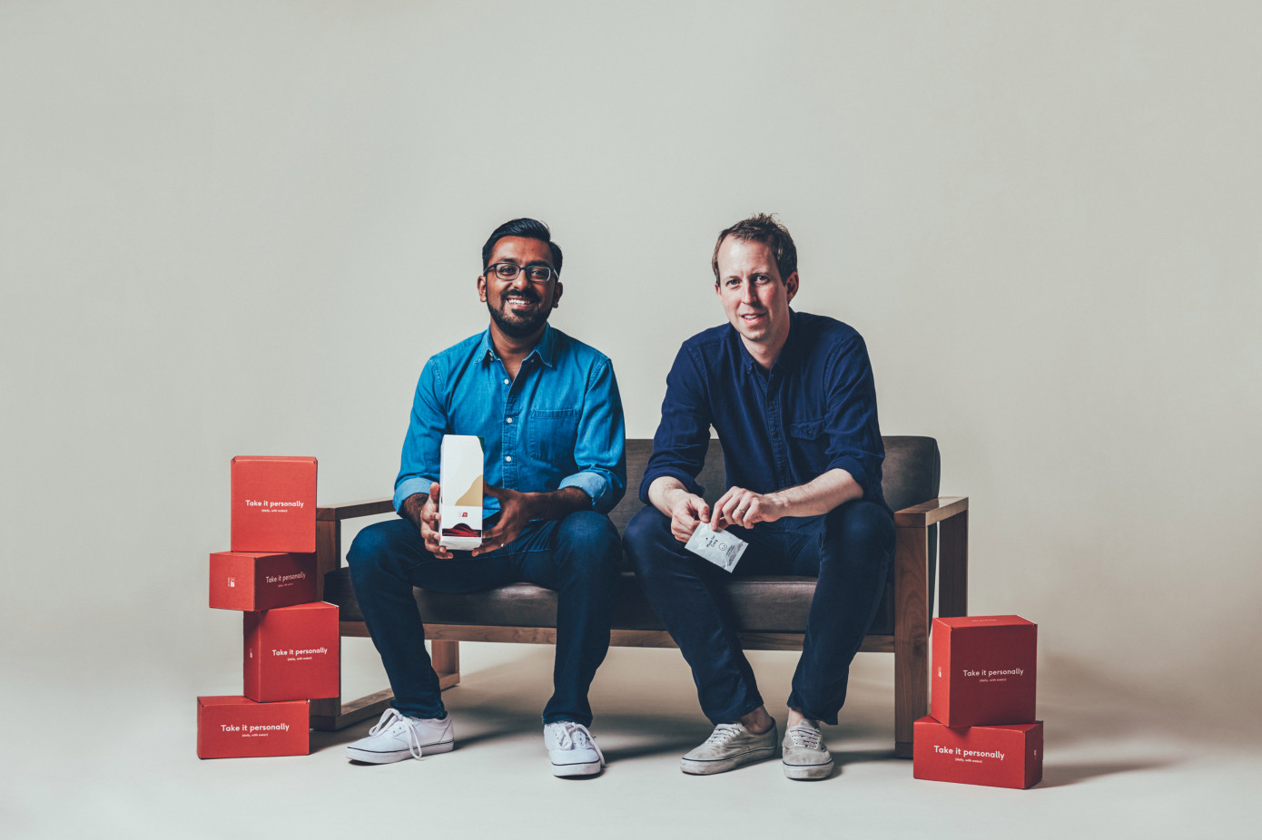 Care/of co-founder and head of product, Akash Shah, and CEO Craig Elbert.