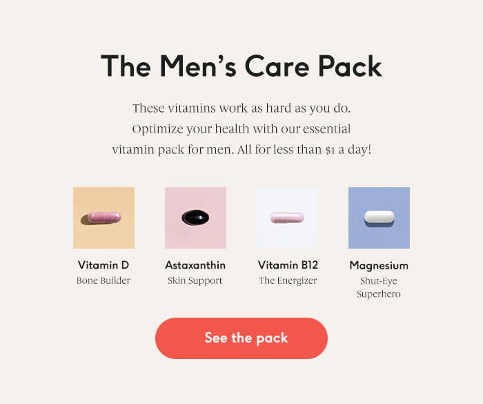 5 Best Vitamins and Supplements For Men's Health 2019