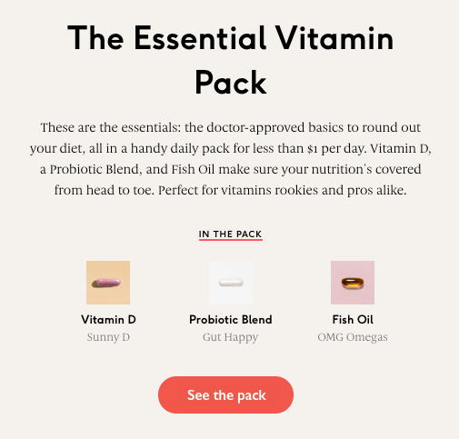 Essential Vitamin Pack