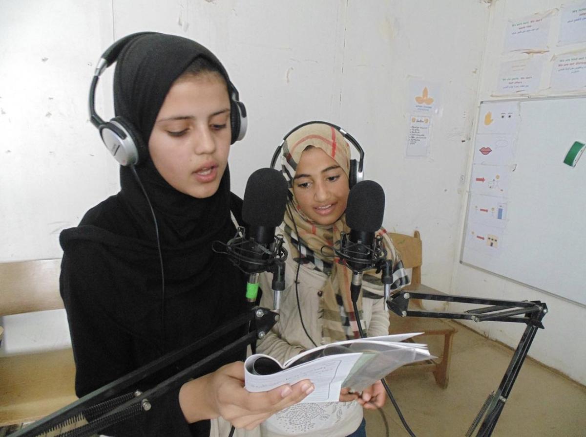 Help us partner with the Jordan-based station Radio Zaatari