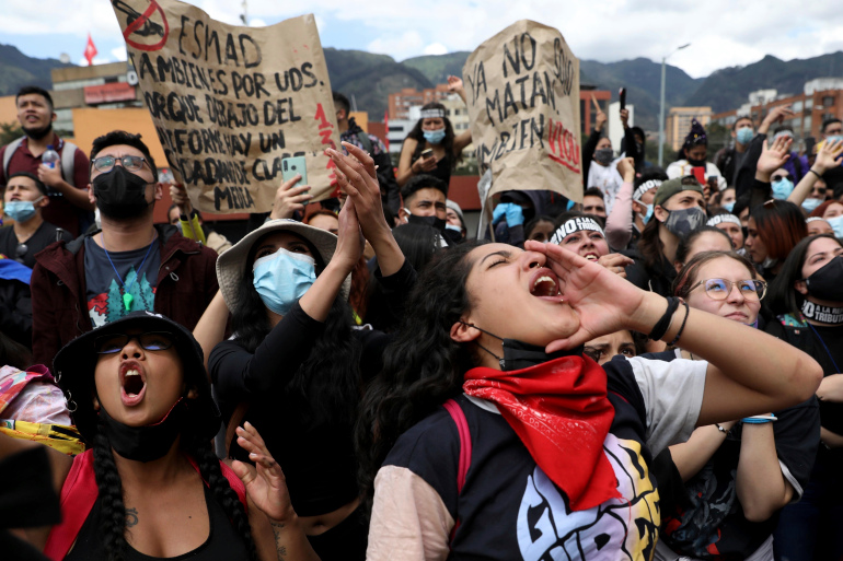 Protests in Colombia escalate as civilians demand sweeping reform