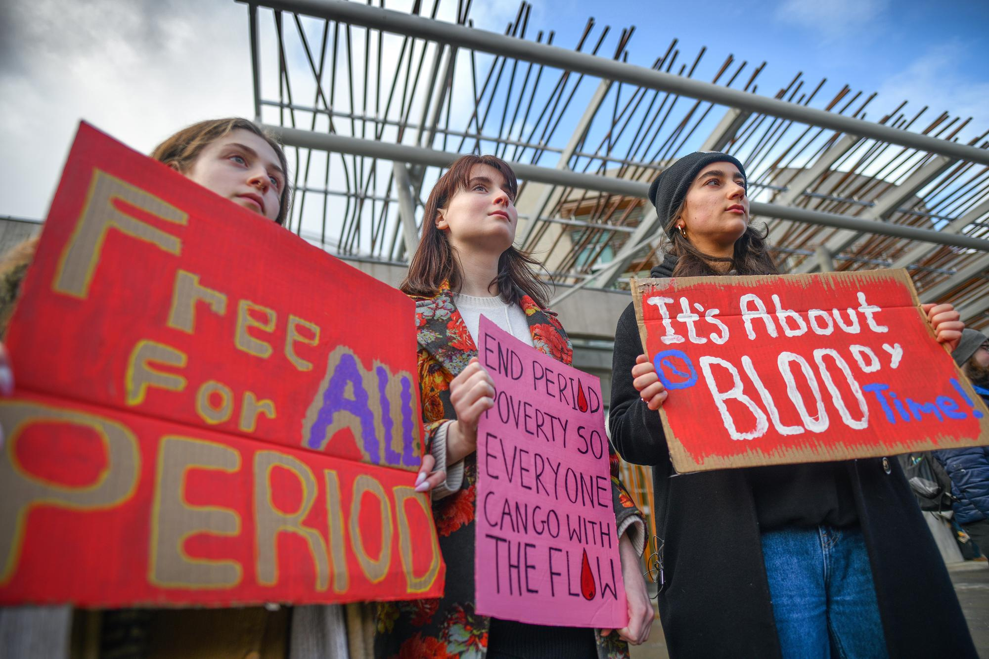 Scottish Parliament votes for universal free period products
