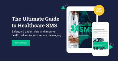 "Thumbnail image for ""The Ultimate Guide to Healthcare SMS """
