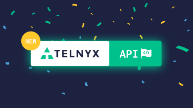 "Thumbnail image for ""It's Official. The New Telnyx API Has Launched."""