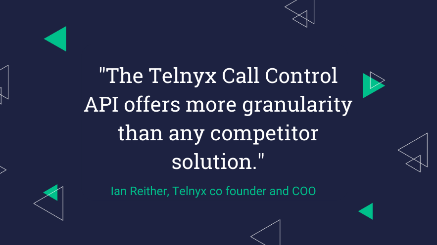 Telnyx Call Control: Programmable Voice API