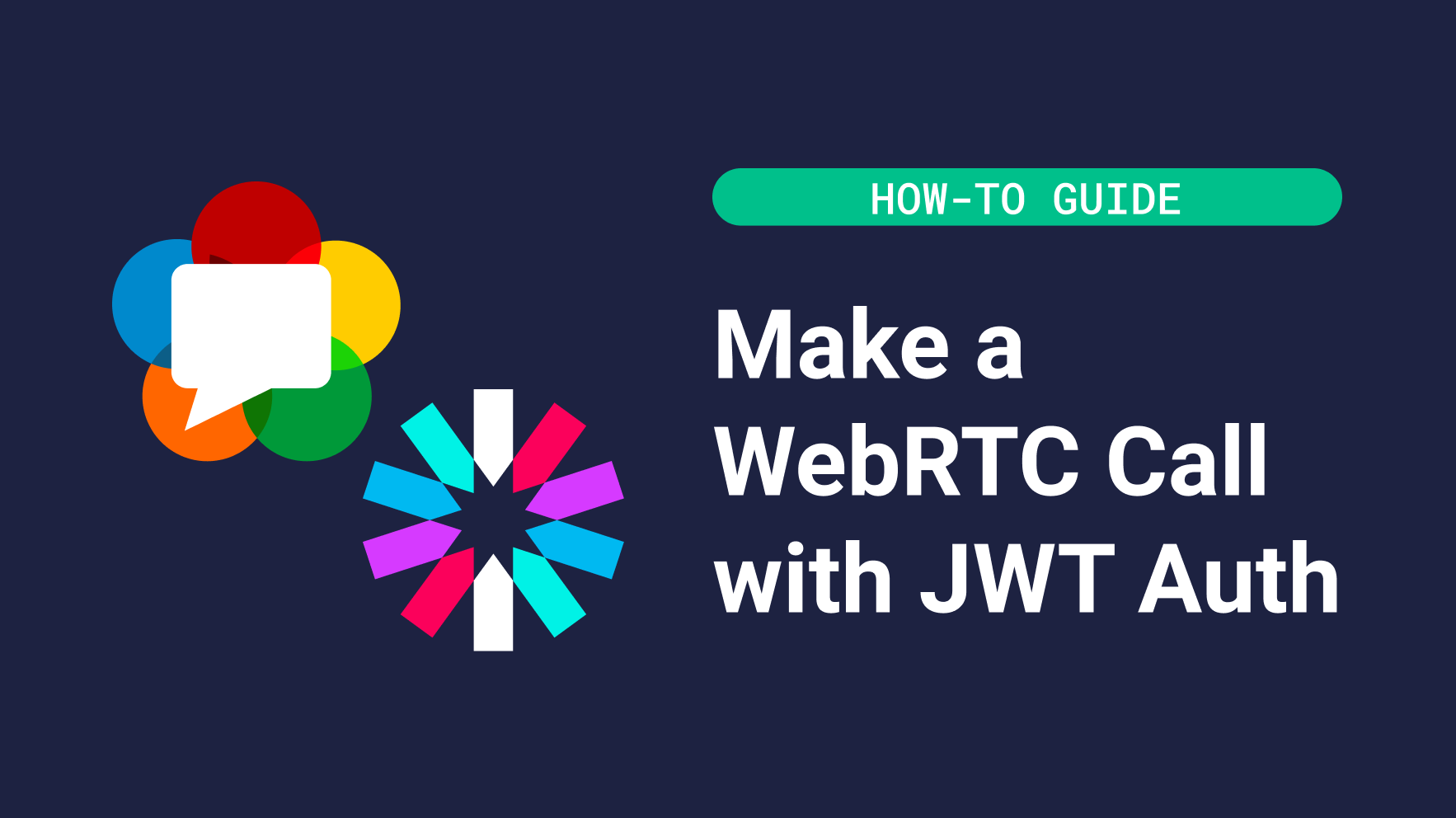 Make a WebRTC call with JWT authentication banner