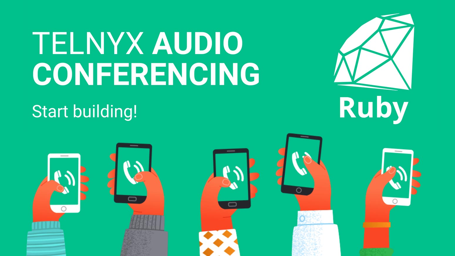 Ruby audio conferencing banner