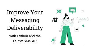"Thumbnail image for ""Build a better messaging app with Telnyx SMS API"""