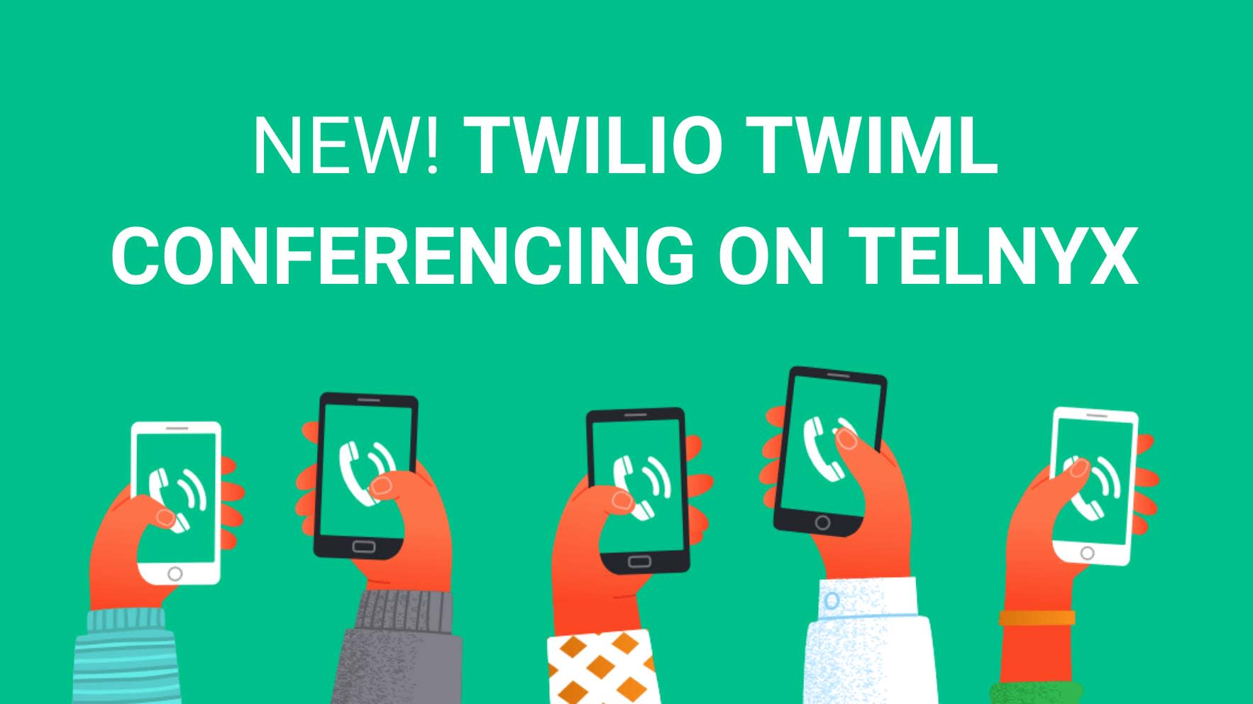 Twilio TwiML Conferencing on the Telnyx Programmable Voice API
