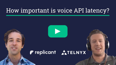 "Thumbnail image for ""VIDEO: ""Telnyx was the fastest provider"" - how Replicant chose a voice API"""