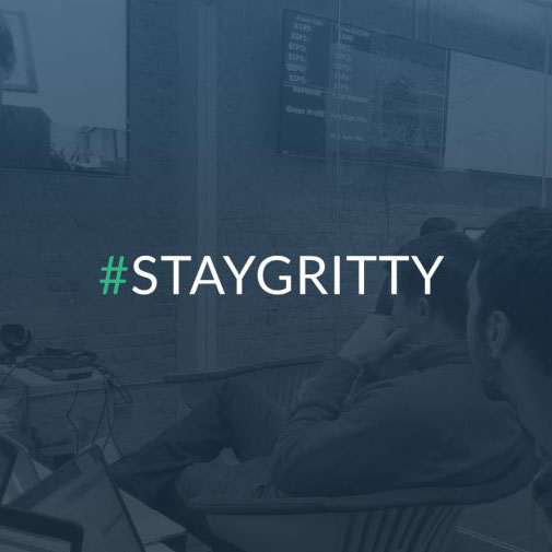 Staygritty graphic