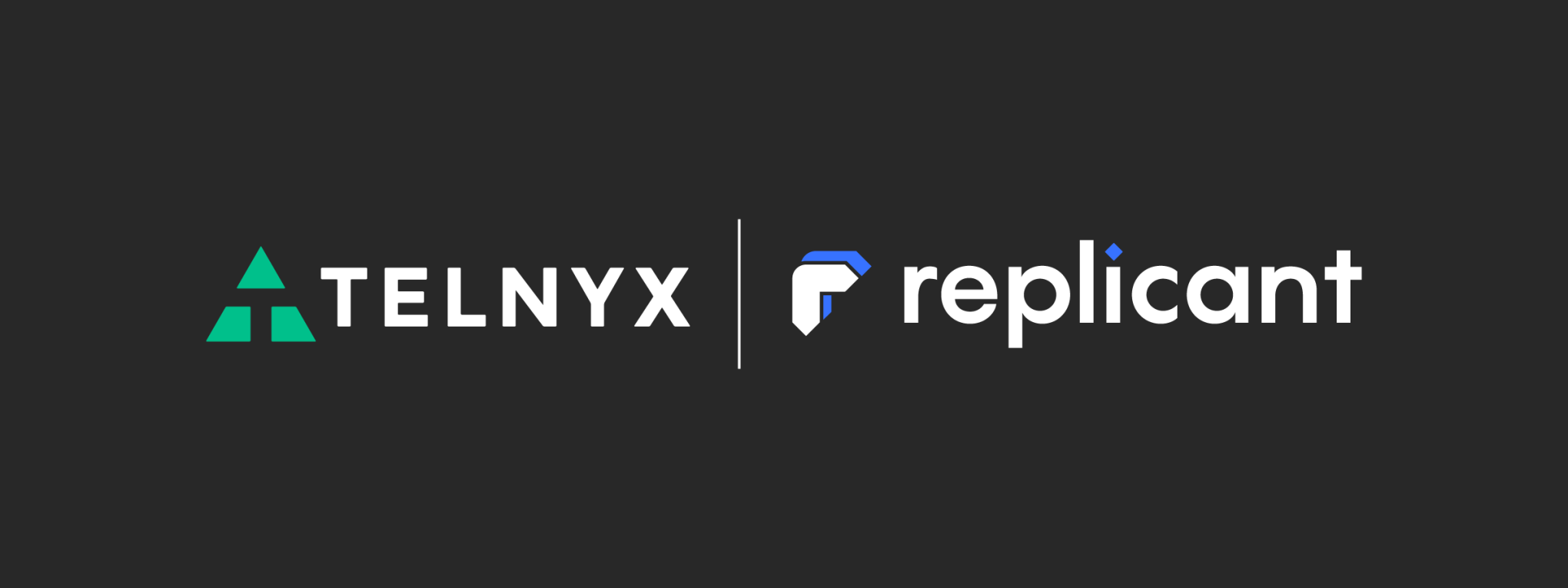 Telnyx and Replicant_banner