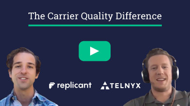 "Thumbnail image for ""VIDEO: How The Telnyx Carrier-Grade Network Empowers Replicant Conversational AI"""