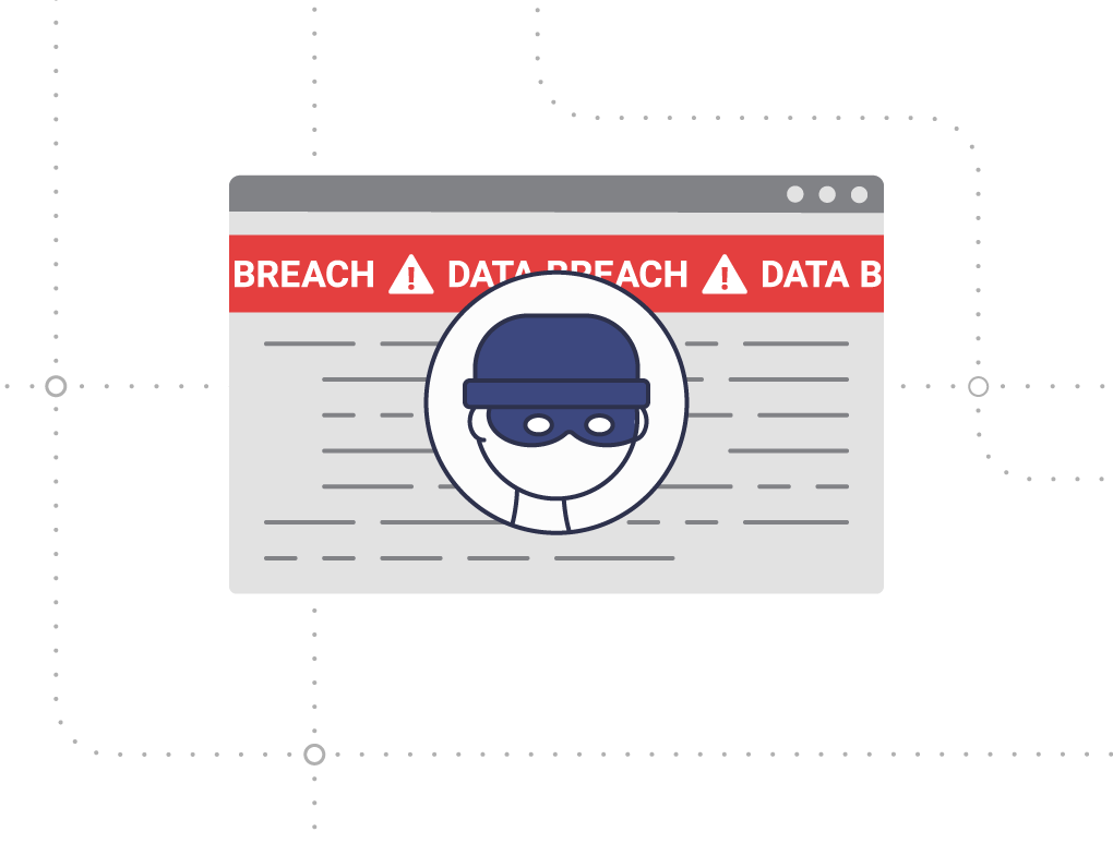 Resource center data breach graphic