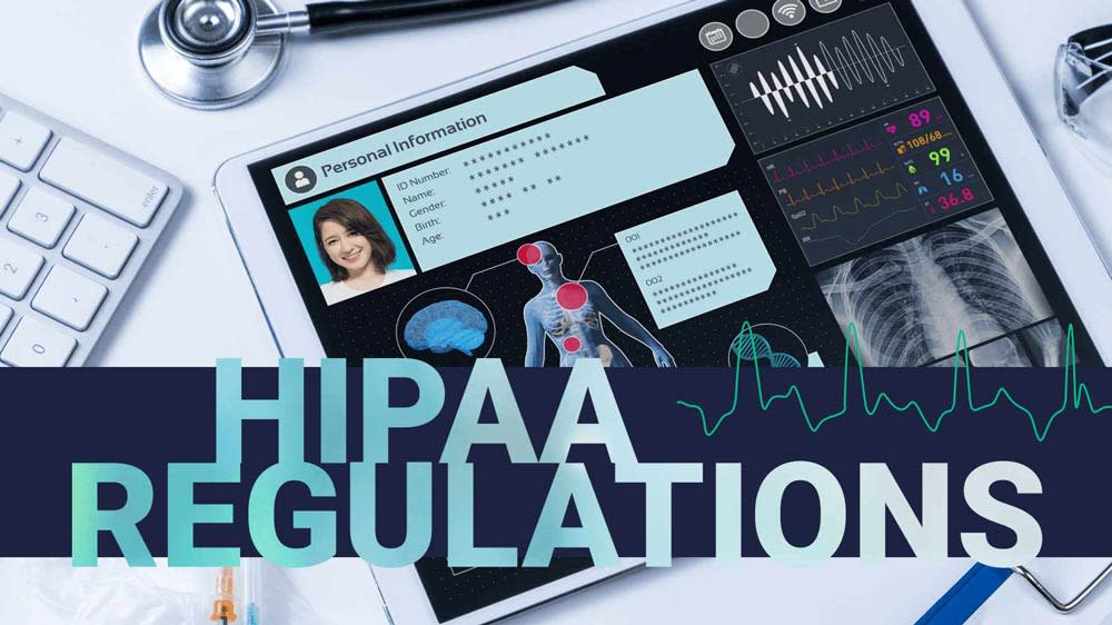 Hippa regulations graphic