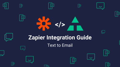 "Thumbnail image for ""Zapier Integration Guide: Text to Email"""