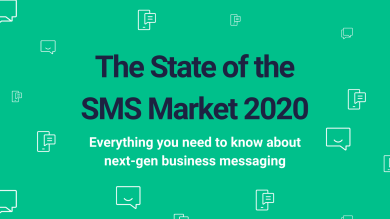 "Thumbnail image for ""[Infographic] State of the SMS Market 2020"""
