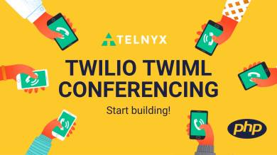 "Thumbnail image for ""Using Twilio TwiML Conferencing on Telnyx with PHP"""