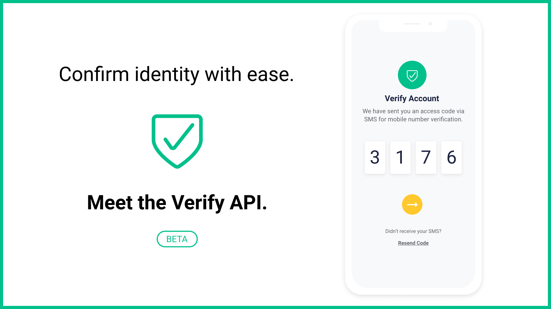 Meet Verify: Our new API dedicated to two factor authentication