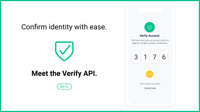 "Thumbnail image for ""Meet Verify: Our new API dedicated to two factor authentication"""