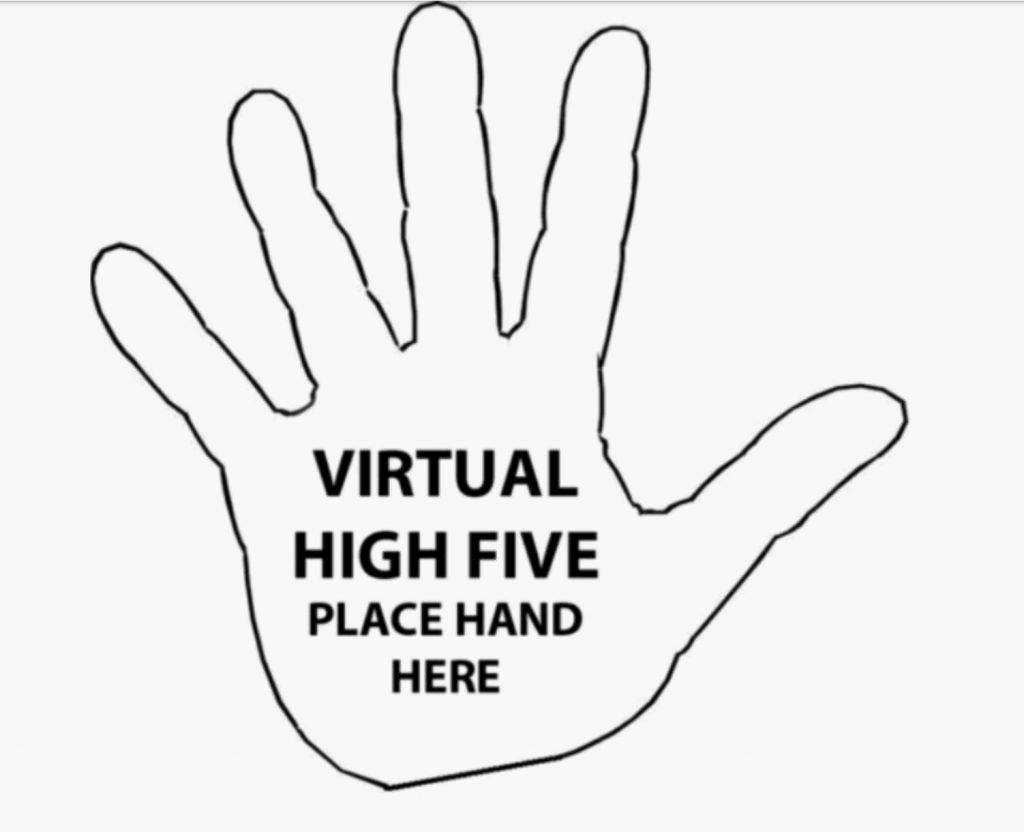 Virtual High Five