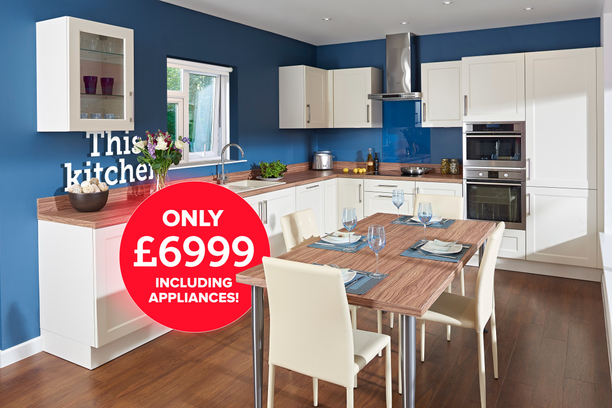 Affordable kitchens in Poole by Caro Design
