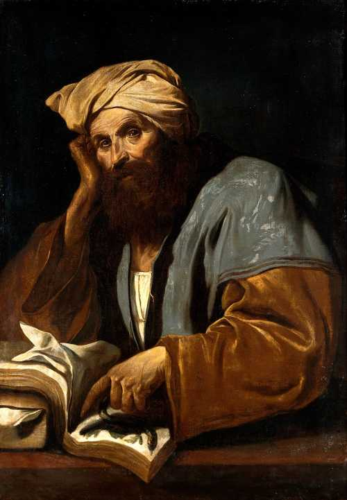 A man of learning (Avicenna?). Oil painting by a Ne Wellcome V0017691