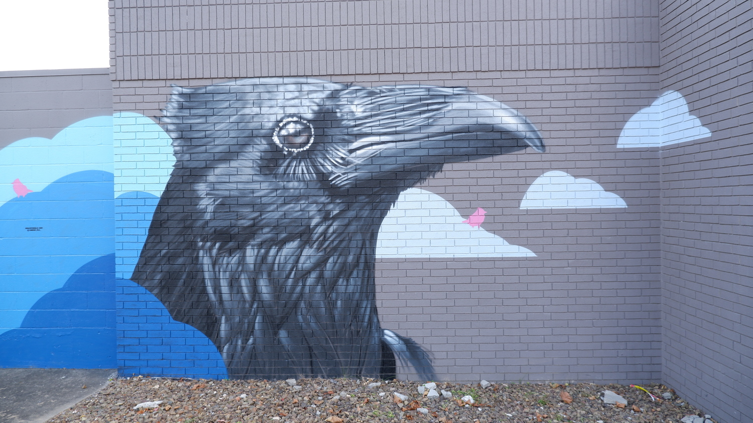 image of Gearhead Outfitters Crows Mural