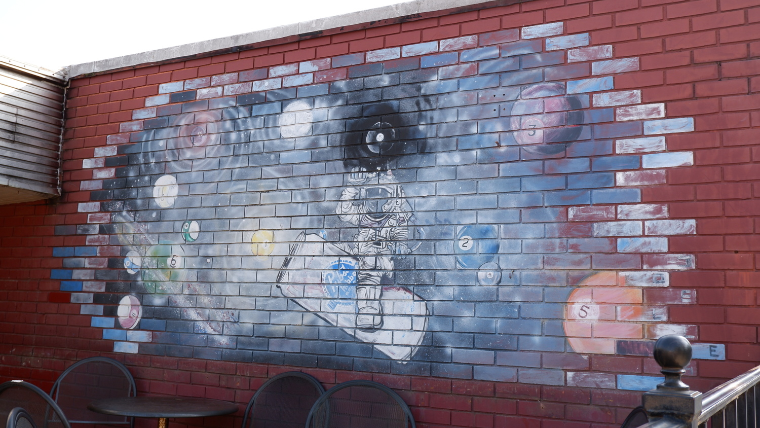 image of Tables & Ale Astronaut Mural