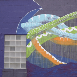 thumbnail of Local Color Monster Mural