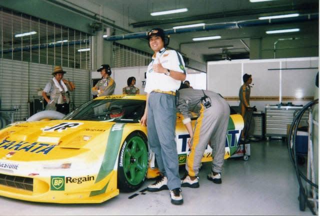 童夢でレーシングカー開発に携わっていた時代の津嶋さん