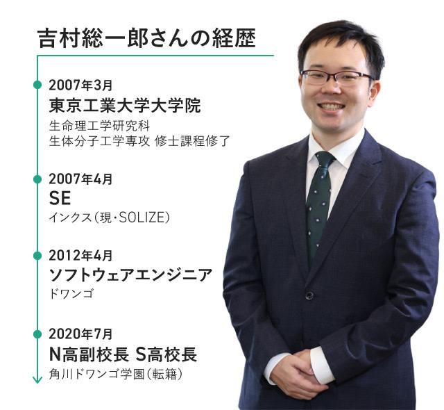 吉村総一郎さん 経歴