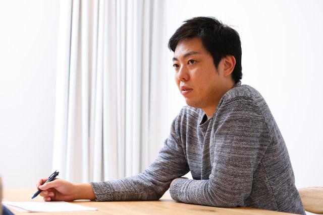 部長職になってからの心境の変化を語る唐澤俊輔さん