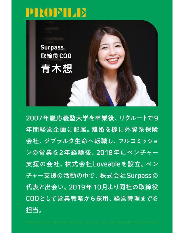 青木想さん 経歴