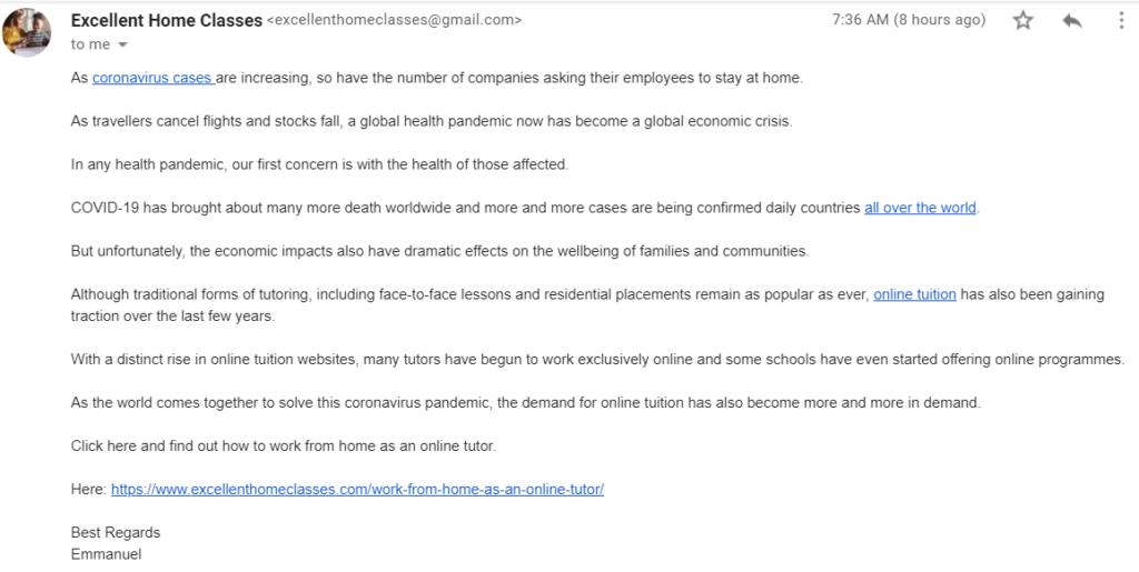 felxjobs email scam