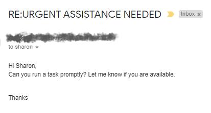 CEO phishing