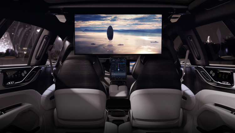 Faraday Future - Backseat Entertainment