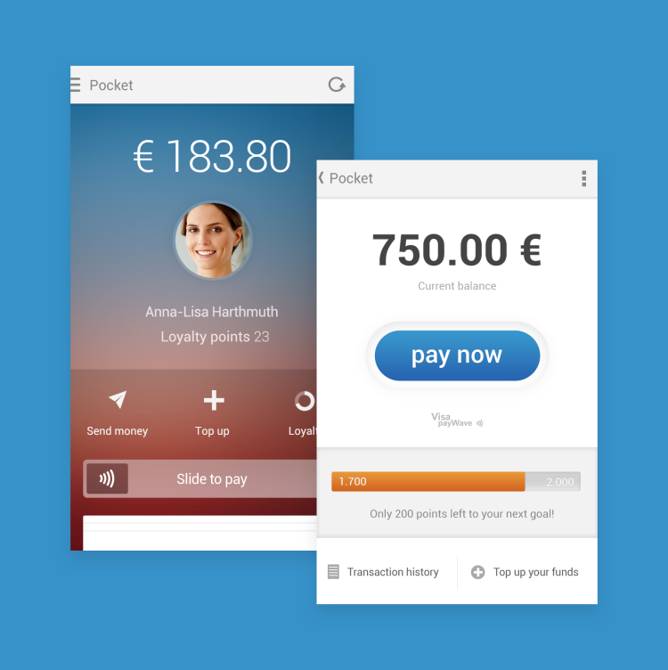 wirecard-ui-screens