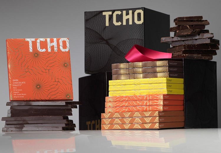 TCHO Case Study Packaging
